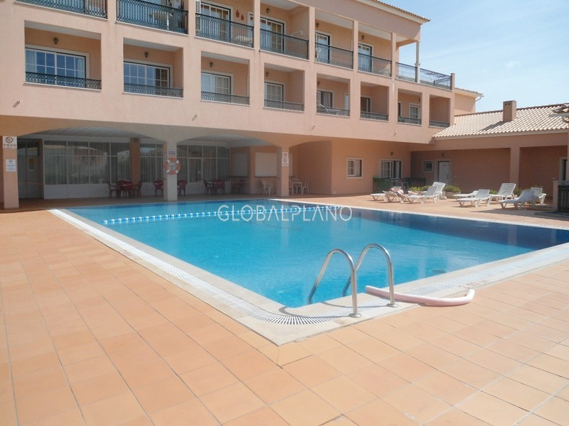 Apartment T1 Rossio S. Pedro/ Alvor Portimão - balcony, condominium, parking space, swimming pool, garage