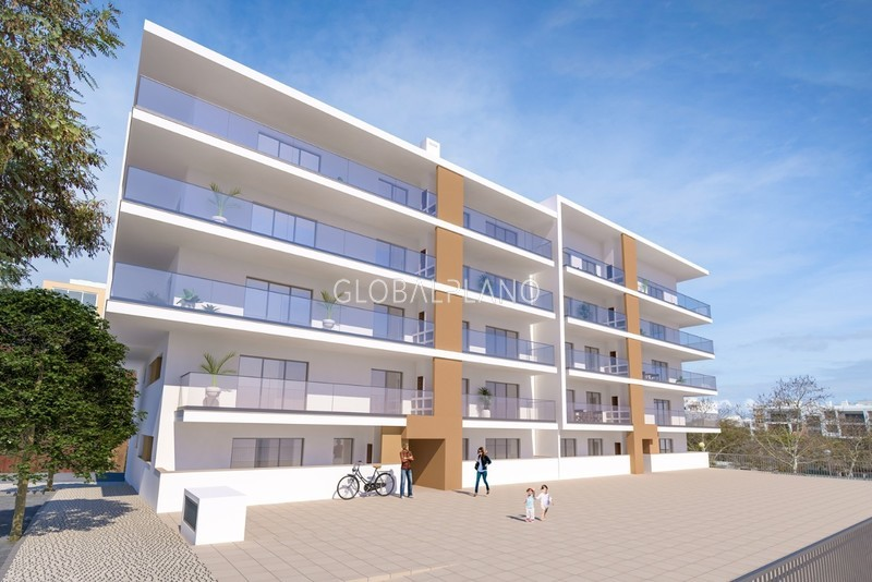 Apartment 3 bedrooms Cerro Ruivo/ Ptm Portimão - garage, double glazing, balcony, kitchen, underfloor heating, solar panels, equipped, parking space