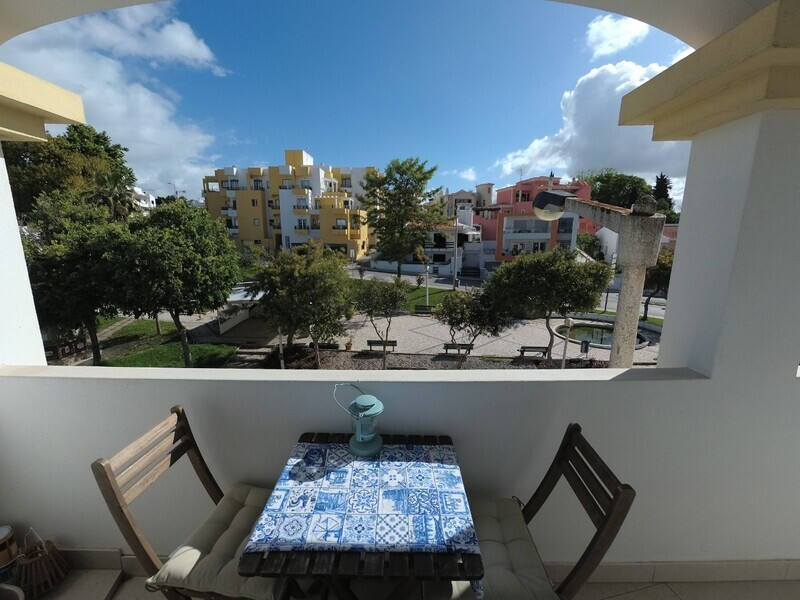 Apartment Refurbished in the center 2 bedrooms Centro de Alvor Portimão - equipped, air conditioning, marquee, balcony, central heating