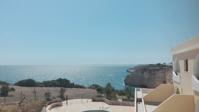 Apartment T1 sea view Praia Vale Centeanes Carvoeiro Lagoa (Algarve) - sea view, furnished, balconies, equipped, balcony