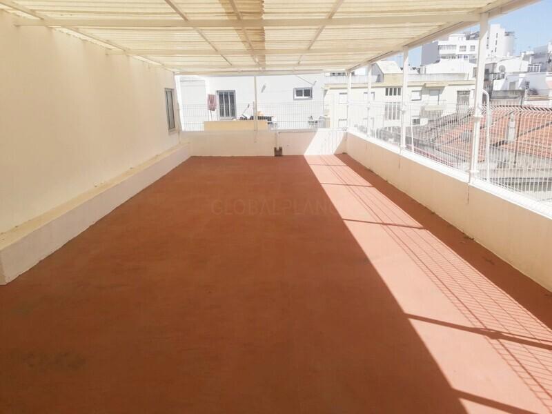 Moradia Moderna no centro V4 Centro/Portimão - terraço, varanda