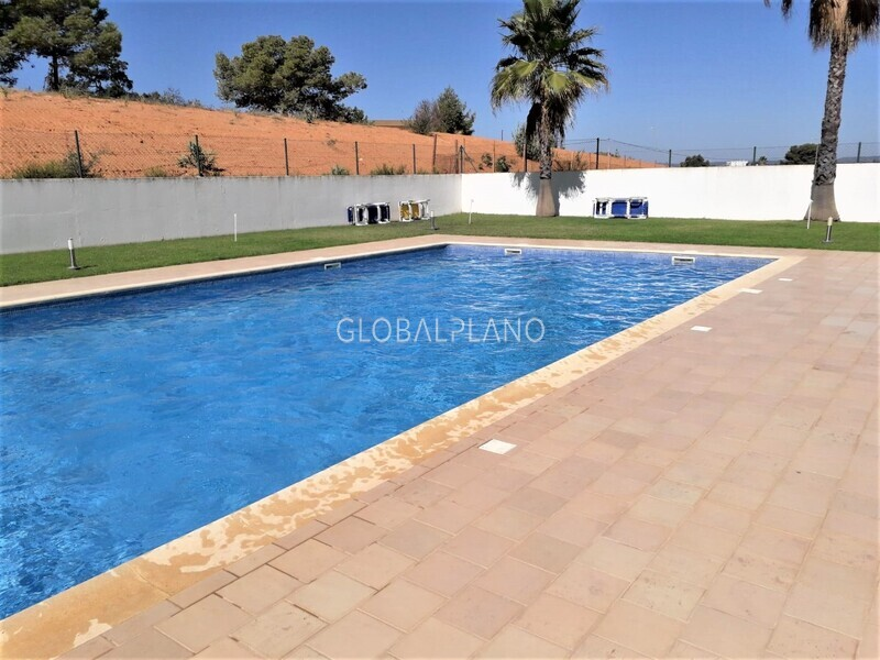 Apartment T3 Má Partilha/ Alvor Portimão - condominium, fireplace, garage, balcony, equipped, swimming pool