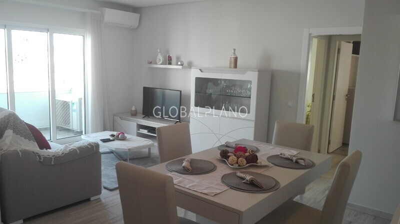Apartment T3 Refurbished Praia Rocha Portimão - furnished, equipped, kitchen, balcony