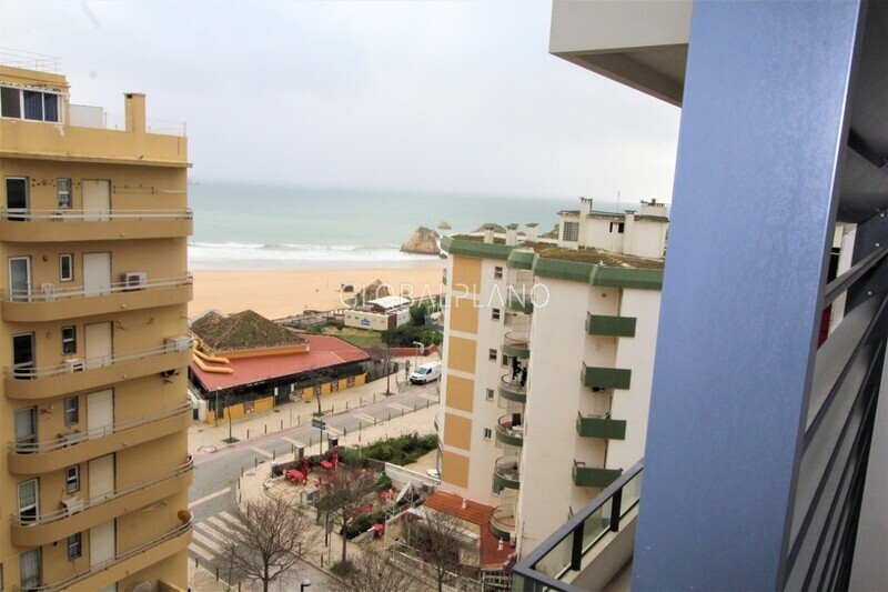 Apartment T2 Luxury sea view Praia da Rocha Portimão - sea view, balcony, air conditioning, ground-floor, garage, parking space