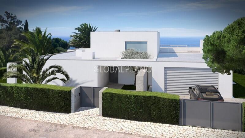 Moradia V5 de luxo Canavial São Sebastião Lagos - jardim, piscina, garagem