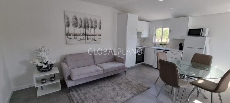 Apartamento Remodelado T1 Oura Albufeira - varanda, mobilado