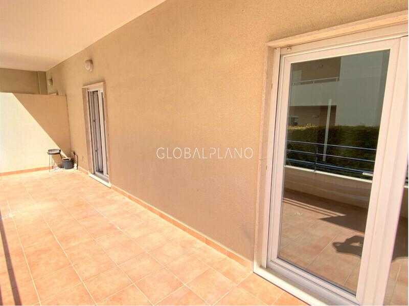 Apartamento T2 1ª Linha Praia da Rocha Portimão - ar condicionado, equipado, garagem, varanda