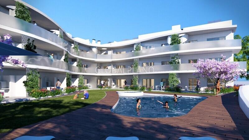 Apartment Luxury 1 bedrooms Alvor  Portimão - garage, terrace, balcony, swimming pool, quiet area