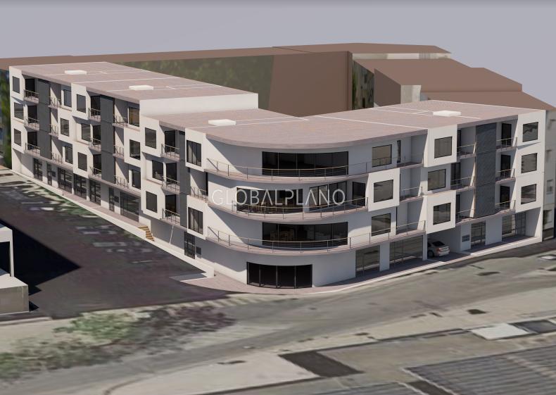 Apartment nouvel under construction T1 Portimão Centro  - garage, balcony, kitchen