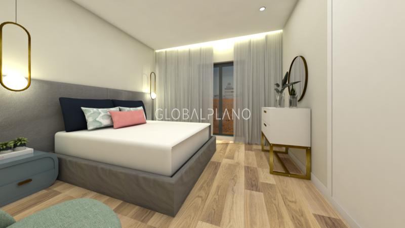 Apartamento novo em construção T4 Portimão Centro  - garagem, varanda, cozinha equipada