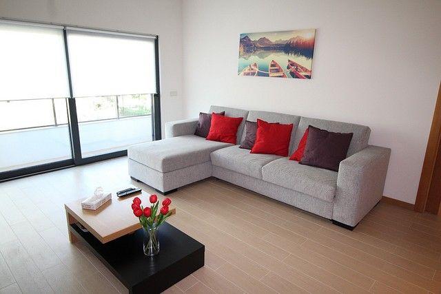 Apartamento Moderno T2 Praia da Rocha/1 Portimão - varanda, garagem, ar condicionado