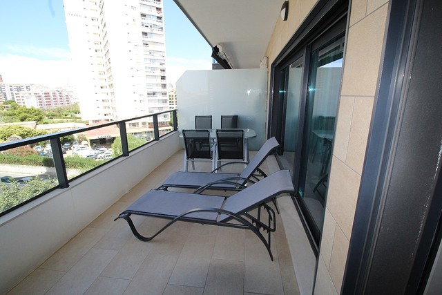 Apartment Modern T2 Praia da Rocha Portimão - balconies, parking space, balcony, garage, air conditioning