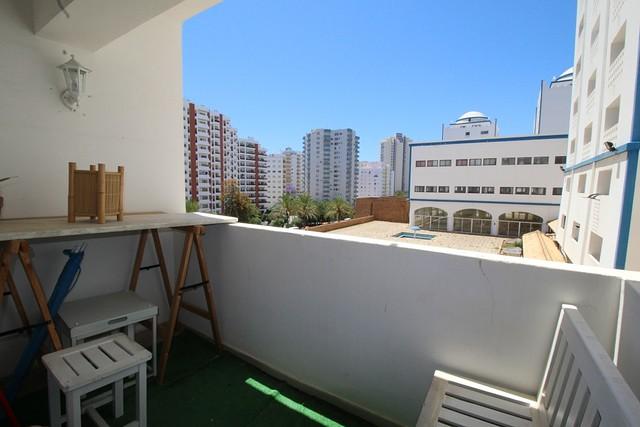 Apartamento T1 Praia da Rocha Portimão - varanda