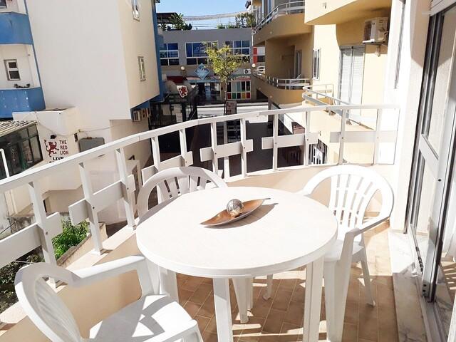 Apartamento Remodelado T1 Praia da Rocha Portimão - varanda