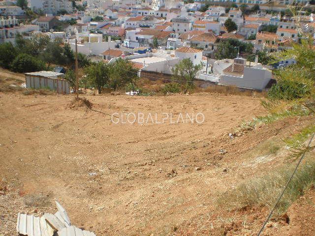 Terreno com projecto aprovado Ferragudo Lagoa (Algarve)