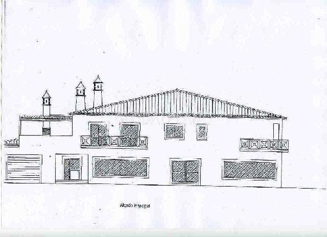 Lote com projecto aprovado Parchal Lagoa (Algarve) - garagem
