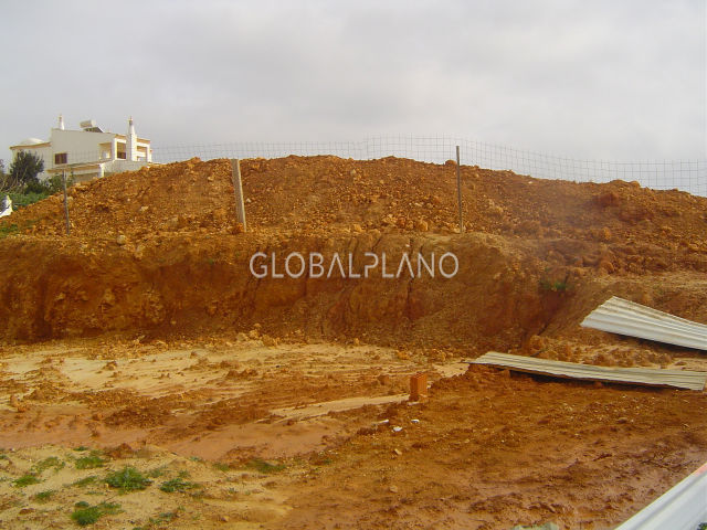 Plot with approved project Bela Vista Parchal Lagoa (Algarve)