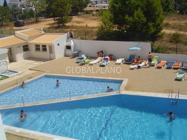 Apartamento T1 Vau Portimão - vista mar, mobilado, varanda, piscina, equipado