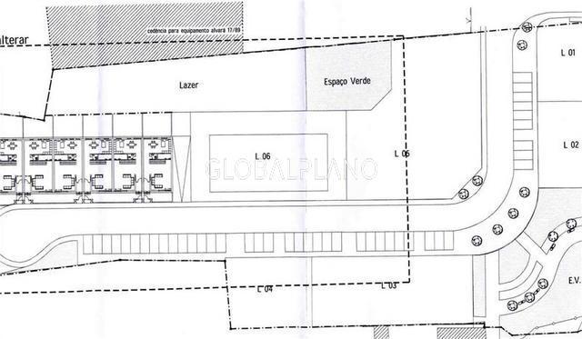 Lote de terreno com projecto aprovado Três Bicos Portimão - viabilidade de construção