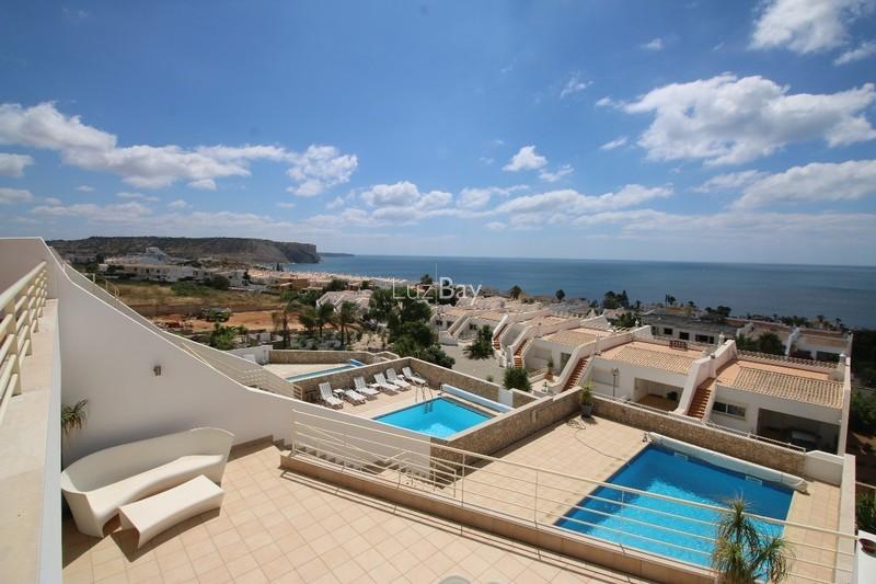 Moradia V4 Praia da Luz Lagos - terraço