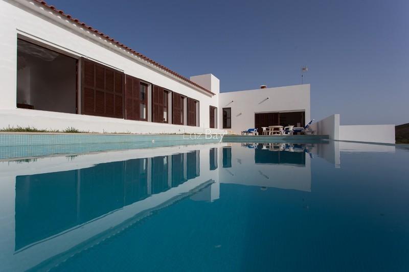 Moradia V3 Budens Vila do Bispo - jardim, arrecadação, piscina, garagem