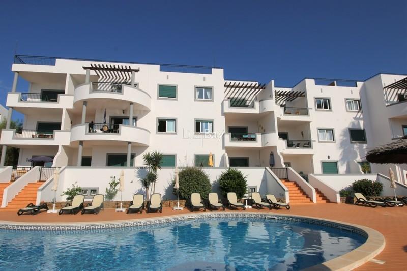 Apartamento com vista mar T2 Praia da Luz Lagos - piscina, terraço, vista mar