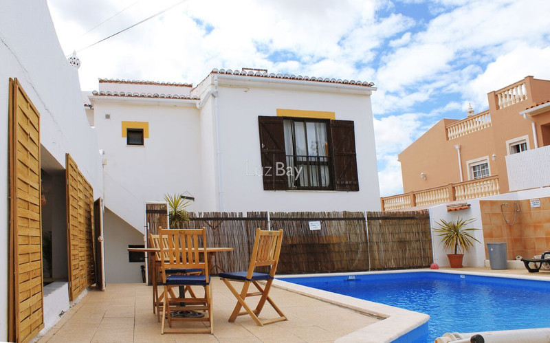 House near the beach Lagos Santa Maria - barbecue, swimming pool, air conditioning, terrace, terraces