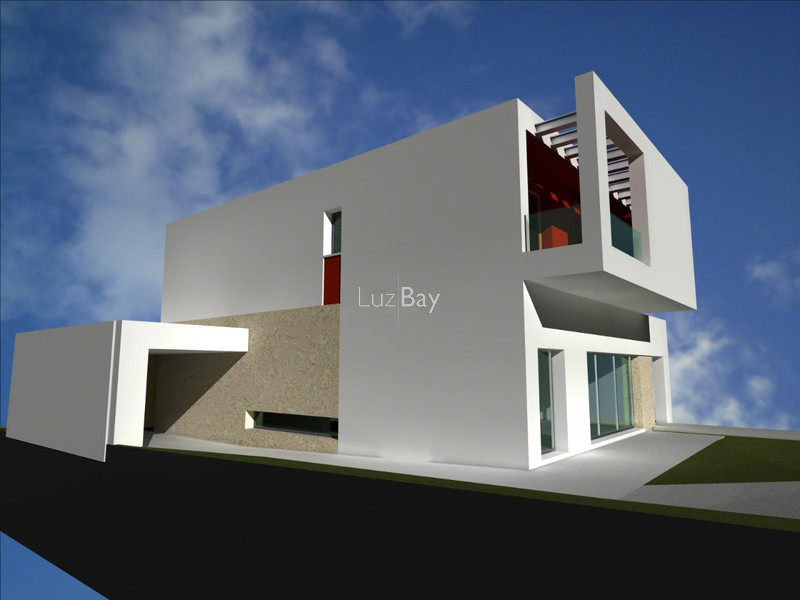 Plot of land with approved project Torraltinha Santa Maria Lagos - garage
