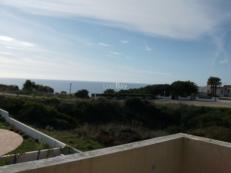 House new 3+1 bedrooms Porto Dona Maria Luz Lagos - fireplace, terrace, swimming pool, sea view