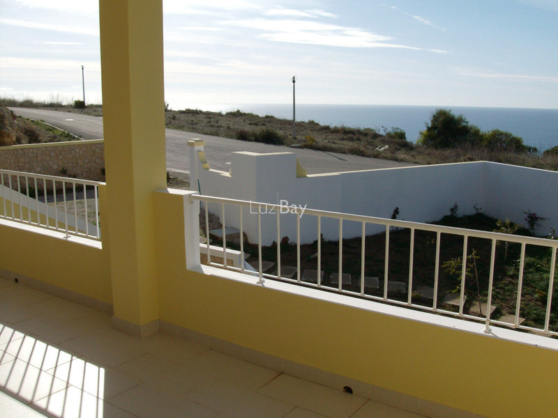 House V3+1 nueva Porto Dona Maria Luz Lagos - terrace, sea view, fireplace, swimming pool, garage