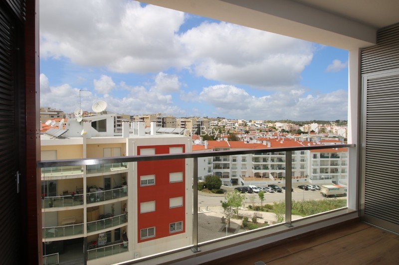 Apartment nouvel T2 Lagos Santa Maria - balcony, balconies, barbecue, solar panels, air conditioning, store room