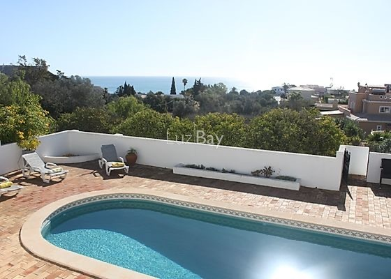 House 4 bedrooms Praia da Luz Lagos - terrace, gardens, terraces, air conditioning