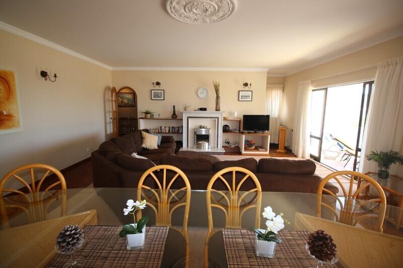 Apartment T4 sea view Praia da Luz Lagos - swimming pool, garden, gardens, sea view, furnished, balcony