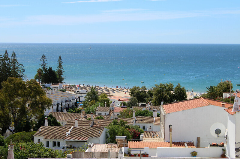Apartamento no centro T2 Praia da Luz Lagos - terraço, varanda, cozinha equipada
