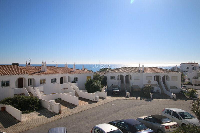 Apartment sea view 1 bedrooms Praia da Luz Lagos - furnished, balcony, sea view, kitchen, equipped