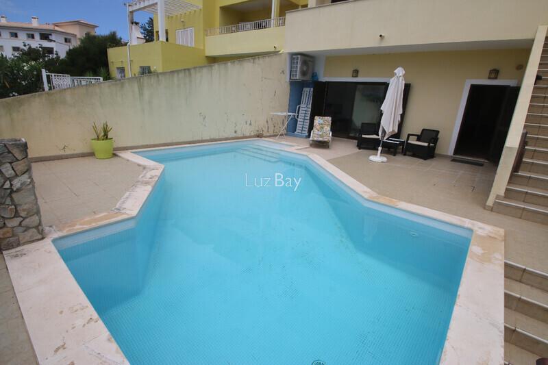 House V3+1 Semidetached Cerro das Mós São Sebastião Lagos - gardens, fireplace, swimming pool
