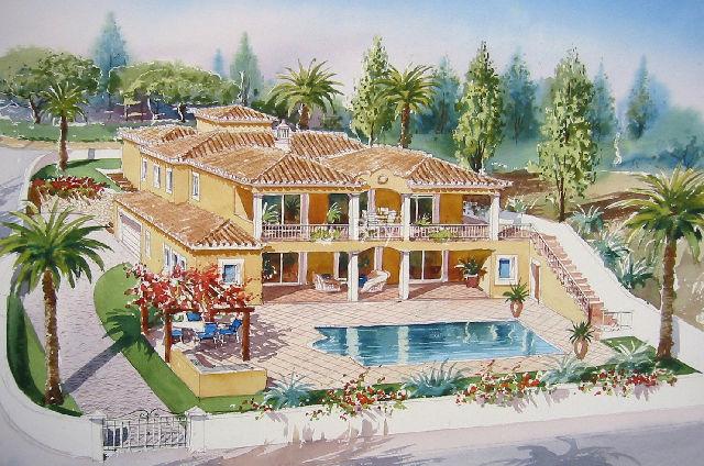 Vivenda V4 de luxo Porto de Mós Santa Maria Lagos - aquecimento solar, alarme, chão radiante, jardim, terraços, garagem, vista mar, piscina