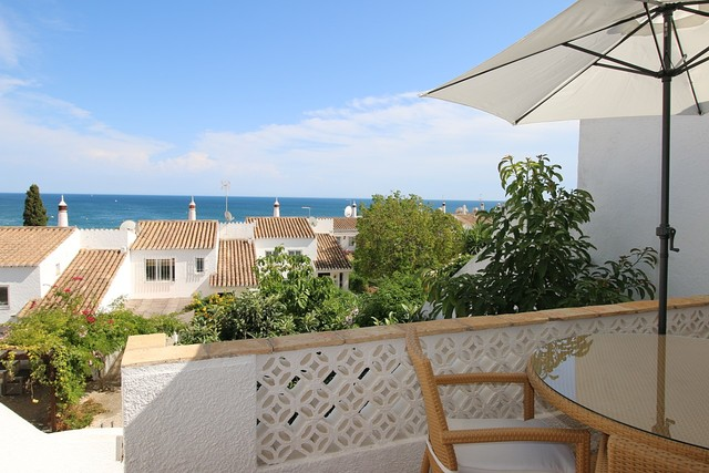 Home V3 Praia da Luz Lagos - sea view, balcony, backyard