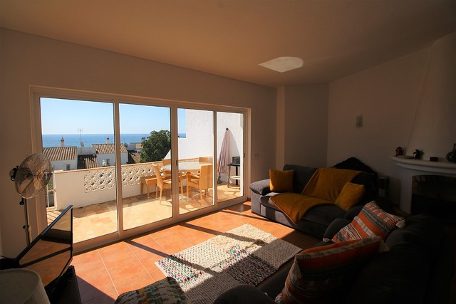 Casa V3 Praia da Luz Lagos - vista mar, varanda, quintal