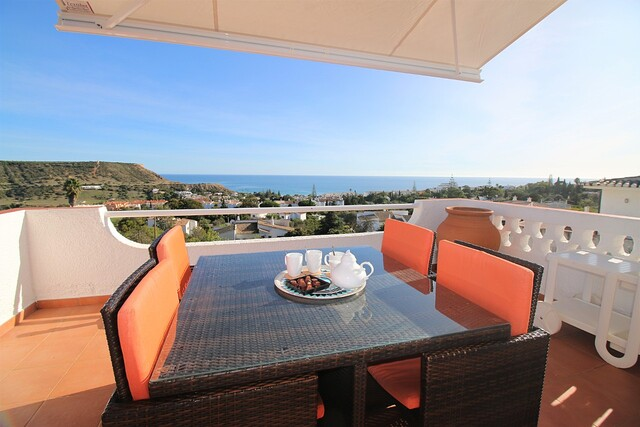 House V3+1 Praia da Luz Lagos - fireplace, swimming pool, sea view, balconies, balcony, air conditioning, great view
