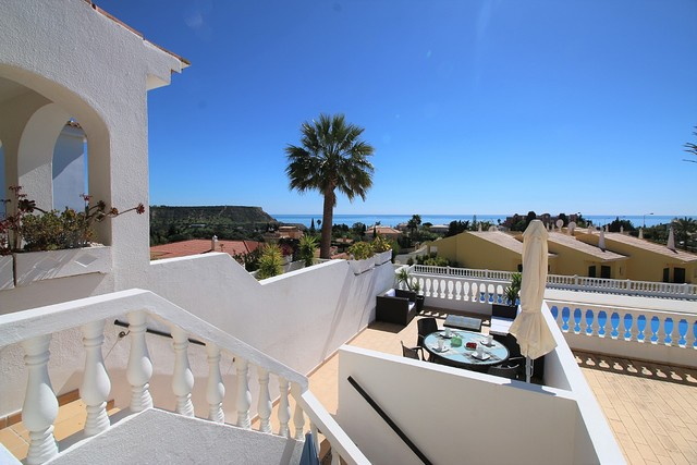 House V2 well located Praia da Luz Lagos - sea view, beautiful view, barbecue, balcony, swimming pool
