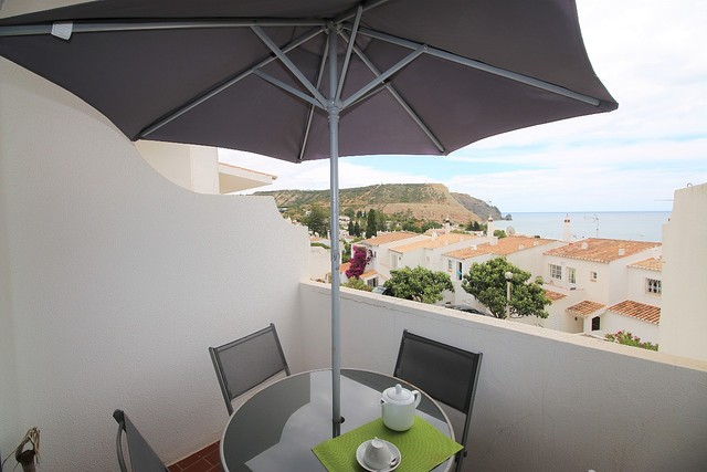 Apartment T2 sea view Praia da Luz Lagos - sea view, balcony