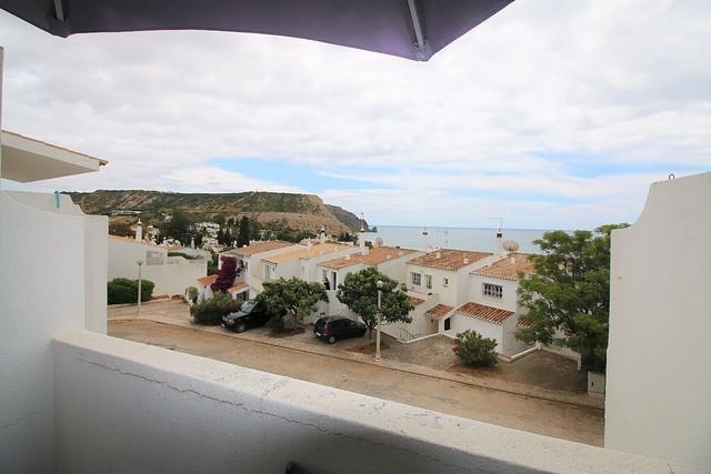 varanda com vista mar