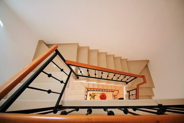 Escadas da moradia