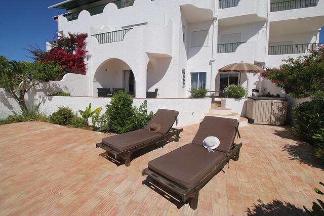 апартаменты T2 Praia da Luz Lagos - веранда, увлекательные виды, веранды, сад
