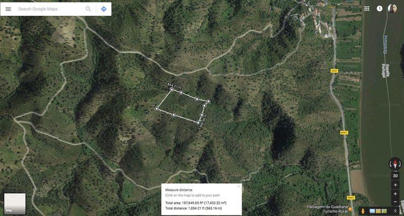 Terreno Rústico com 17400m2 Pereiro Alcoutim