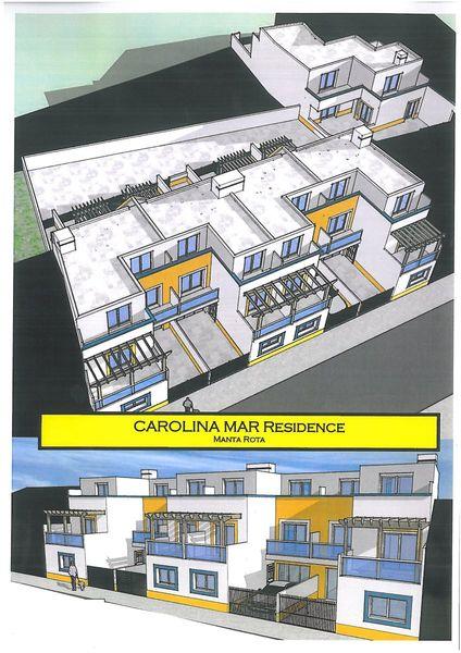 Apartamento novo T3 Manta Rota Vila Nova de Cacela Vila Real de Santo António - painéis solares, ar condicionado, terraços, bbq, cozinha equipada