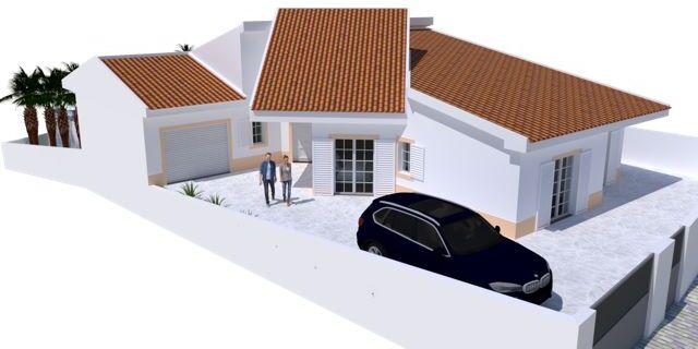 House under construction 4 bedrooms São Bartolomeu do Sul Castro Marim