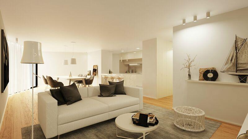 Apartamento novo no centro T2 Avenida 5 de Outubro Olhão - arrecadação, garagem, piscina, equipado
