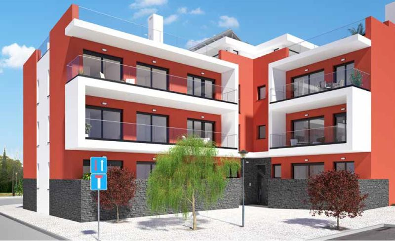 Apartment 3 bedrooms Tavira - kitchen, garage, terrace, balconies, balcony